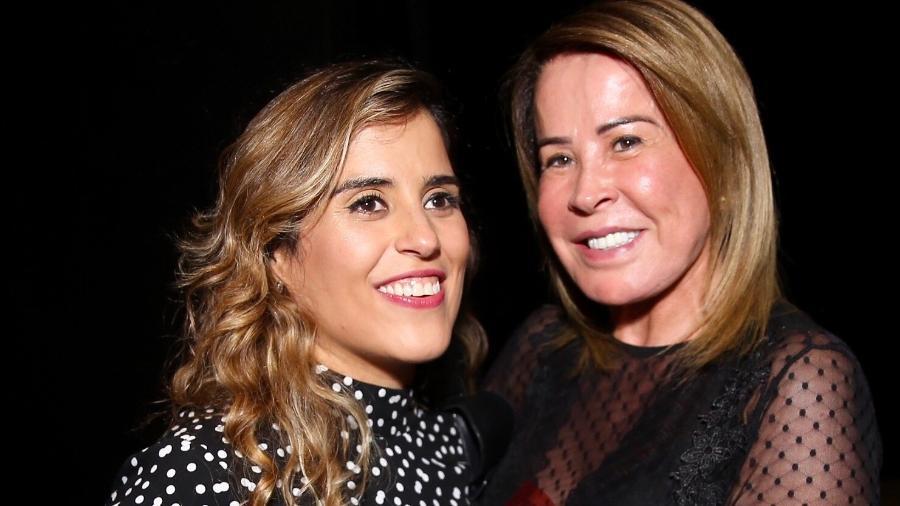 Camilla Camargo e a mãe, Zilu Godoi Camargo - BrazilNews