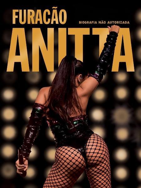 """Capa do livro """"Furacão Anitta"""", de Leo Dias - Manuela Scarpa/Divulgação"""