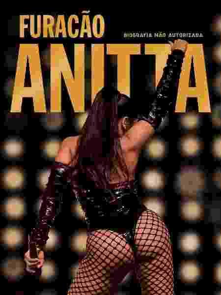 """Capa do livro """"Furacão Anitta"""" - Manuela Scarpa/Divulgação - Manuela Scarpa/Divulgação"""