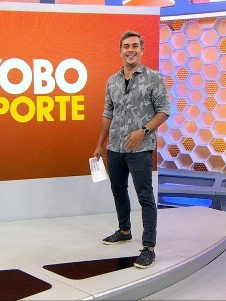 """Ivan Moré no """"Globo Esporte"""" - Reprodução/TV Globo"""