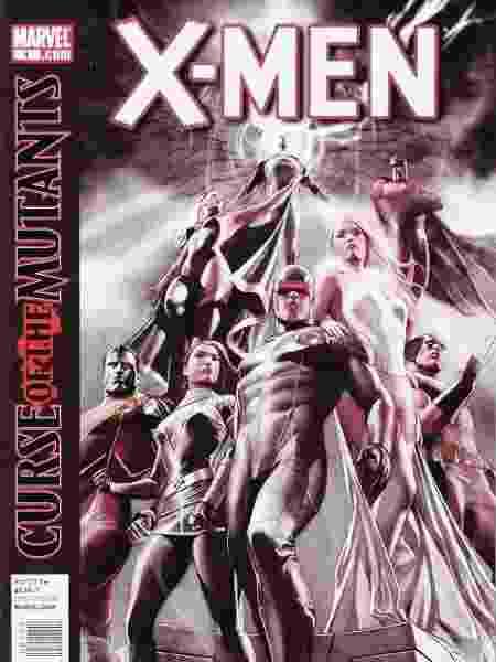 Capa de uma das edições do arco Maldição dos Mutantes, publicado pela Marvel - Divulgação