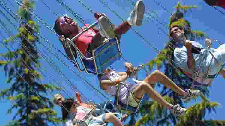 Parque Gilroy Gardens, na Califórnia - Divulgação/Gilroy Gardens - Divulgação/Gilroy Gardens
