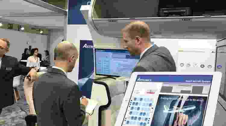 Astronics - Solução de compartimento inteligente - Reprodução/apex.aero - Reprodução/apex.aero