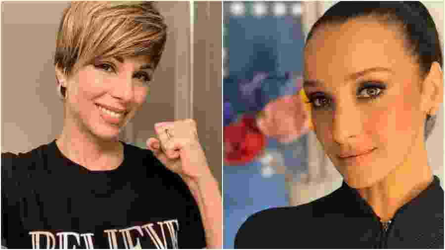 Ana Furtado e Sabrina Parlatore falaram sobre diagnóstico de câncer de mama - Reprodução/Instagram