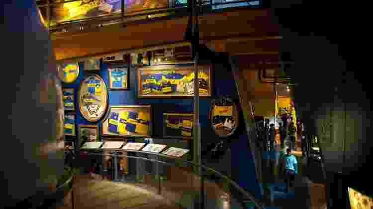 A visita ao museu do Boca Juniors inclui vista ao estádio La Bombonera - Ente de Turismo de la Ciudad de Buenos Aires/Divulgação