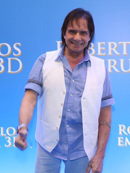 O cantor Roberto Carlos: garantido na grade de fim de ano da Globo  - Roberto Filho/Brazil News