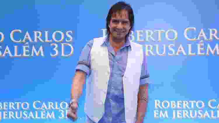 "Roberto Carlos na sessão especial de ""Roberto Carlos em Jerusalém 3D"" - Roberto Filho/Brazil News"