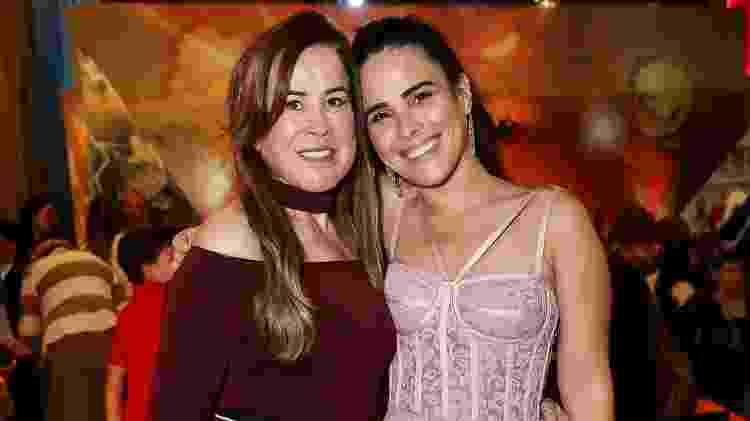 Zilú Godói com a filha, Wanessa Camargo, no aniversário do neto - Manuela Scarpa e Marcos Ribas/Brazil News