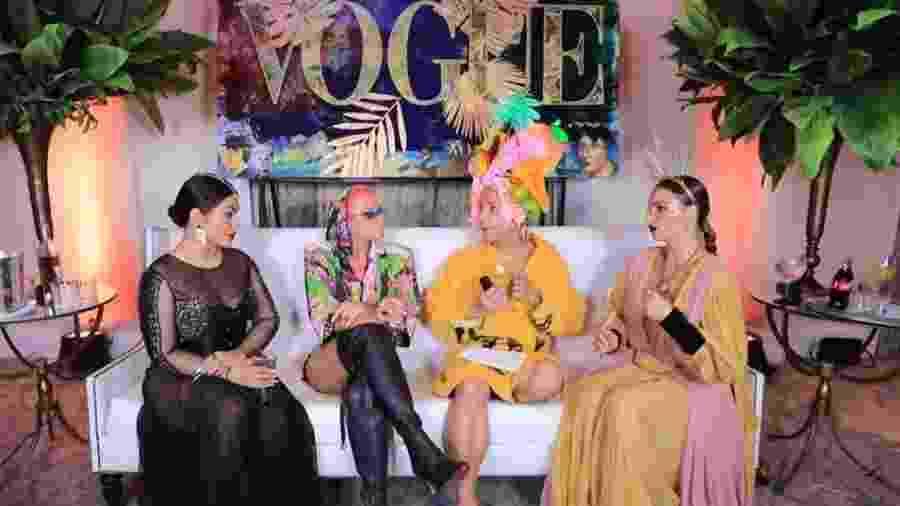 Cleo, Xuxa e Isis Valverde em entrevista para Matheus Mazzafera - Reprodução/YouTube
