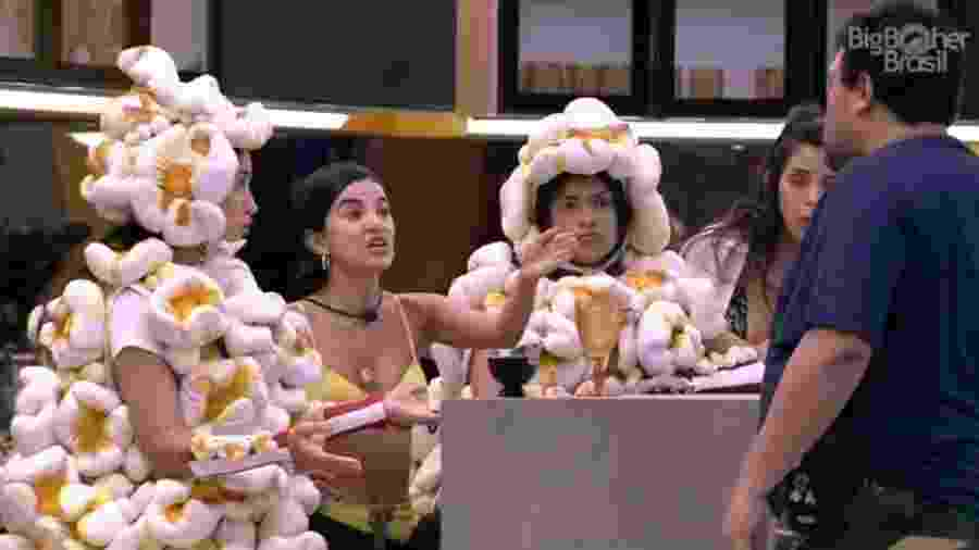 BBB 20: Babu se irrita com as sisters - Reprodução/Globoplay