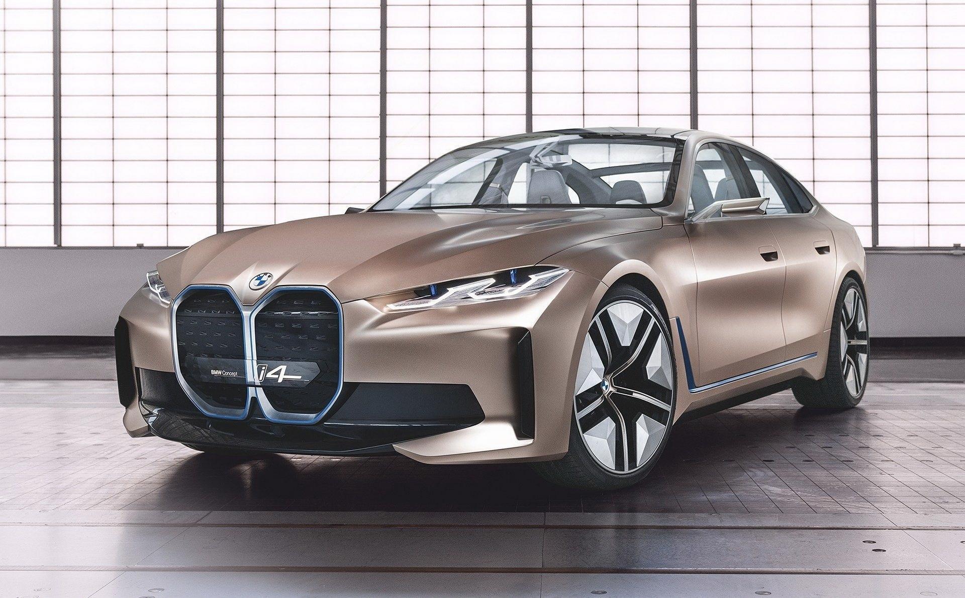 Bmw Concept I4 Antecipa Futuro Cupe Eletrico Que Estreia Em 2021 03 03 2020 Uol Carros