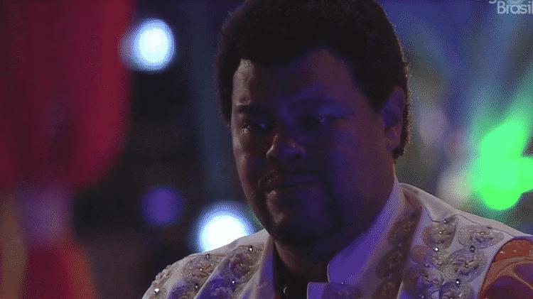 Babu chora durante festa no BBB 20 - Reprodução/Globoplay - Reprodução/Globoplay
