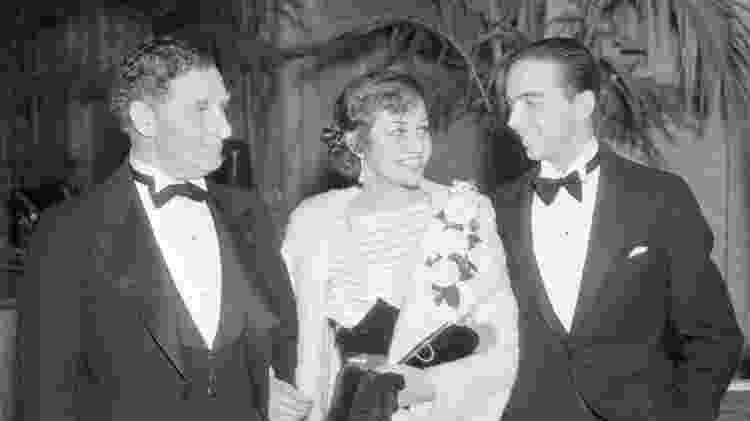 À direita, o agente de talentos Henry Willson, em foto de 1935 - Bettmann Archive/Getty Images - Bettmann Archive/Getty Images
