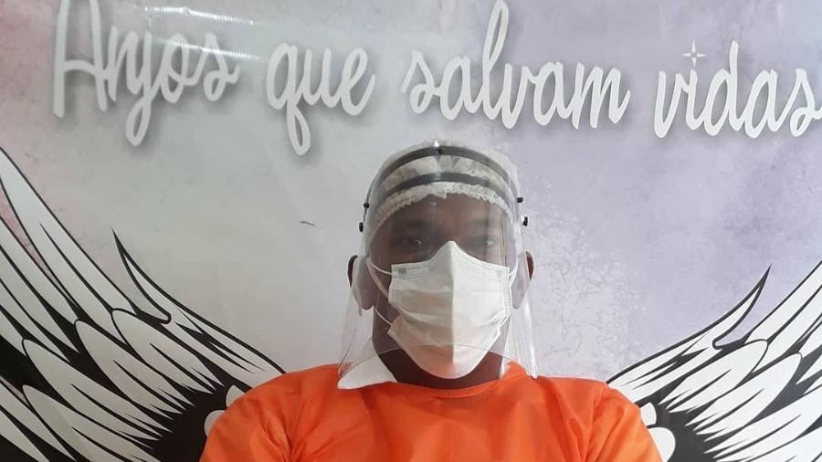 Joseildo da Silva passou os últimos meses em um hotel, em hospedagem cedida pela Secretária Municipal de Saúde - Arquivo pessoal