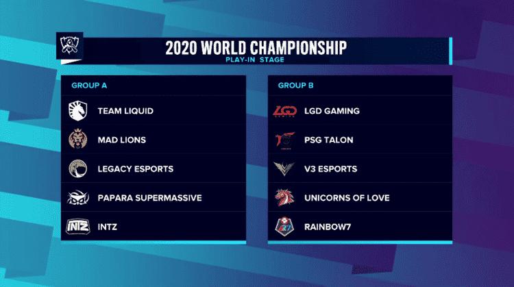 Worlds Mundial LoL 2020 - Reprodução/YouTube/LoLEsports - Reprodução/YouTube/LoLEsports