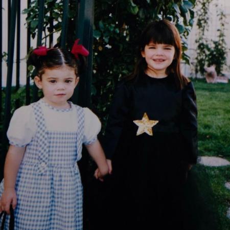 Kylie e Kendall Jenner se fantasiaram de Dorothy e bruxa - Reprodução