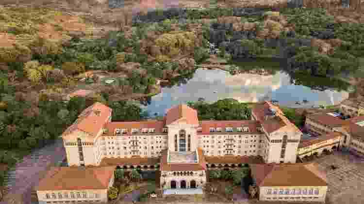 Grande Hotel e Termas de Araxá Atual - Divulgação Grupo Tauá - Divulgação Grupo Tauá