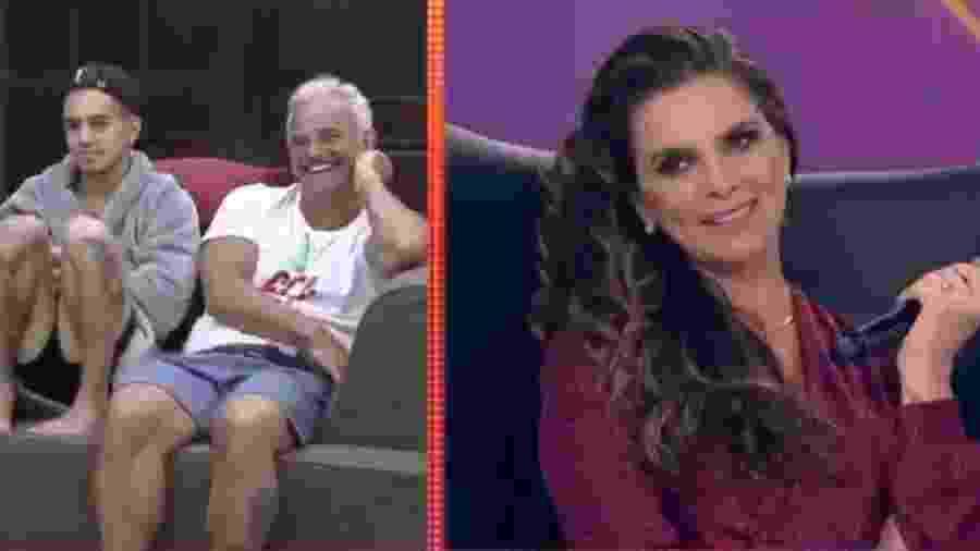 """Luiza Ambiel reaje a provocação dos peões em """"A Fazenda"""" - Reprodução/Twitter"""