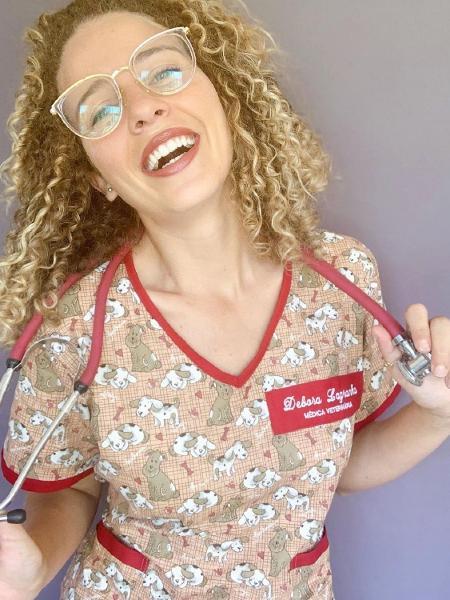 Debby Lagranha trabalha atualmente como veterinária - Reprodução/Instagram
