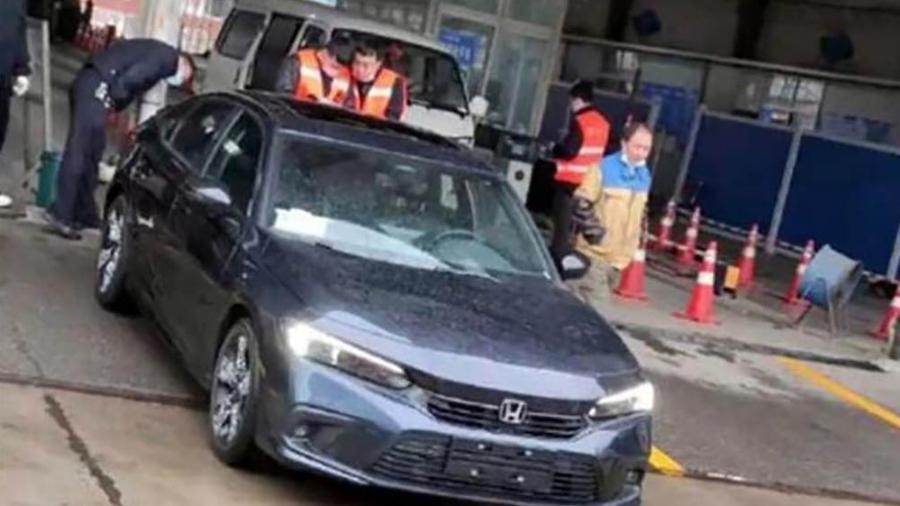 Flagra Honda Civic 11º geração - Reprodução