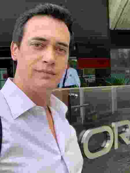 Diogo Bucci em janeiro de 2020, antes de começar a quarentena - Arquivo pessoal - Arquivo pessoal