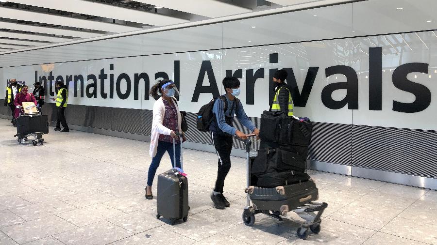 Inglaterra flexibiliza obrigatoriedade para passageiros que comprovem vacinação contra a covid-19, à exceção de latino-americanos - Getty Images