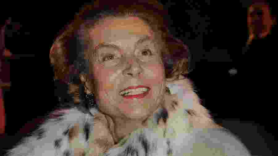 "Liliane Bettencourt, herdeira da L""Oréal, em foto de 2009 - Getty Images"