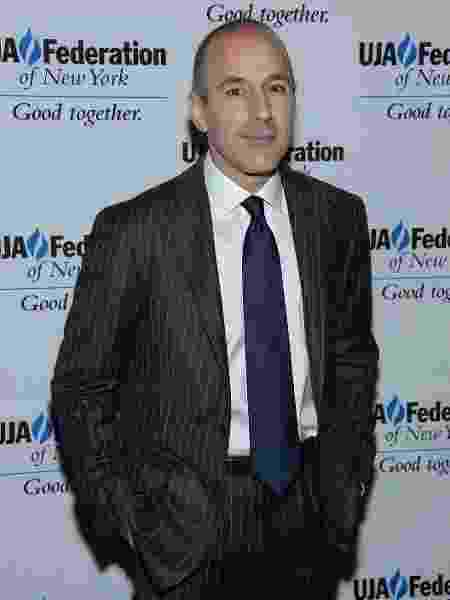 Matt Lauer foi acusado de assédio sexual - Dimitrios Kambouris/Getty Images