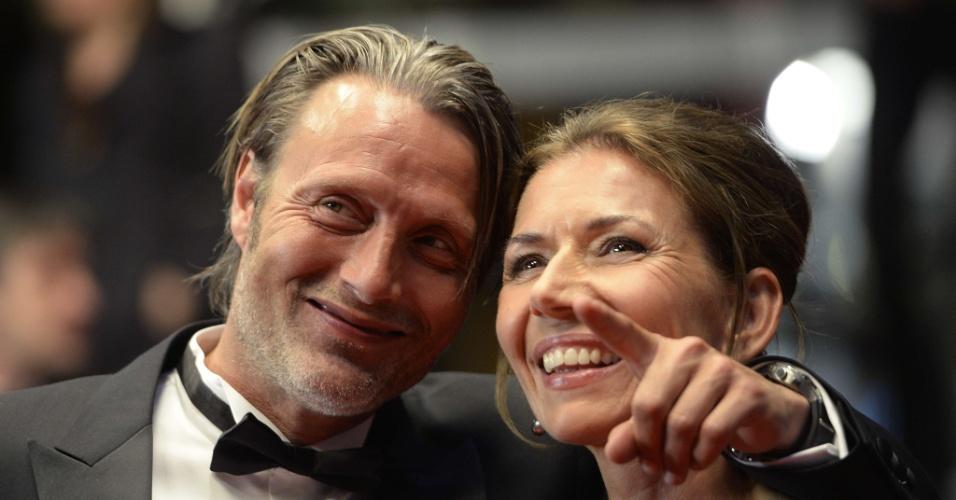 24.mai.2013 - O ator dinamarquês Mads Mikkelsen, de