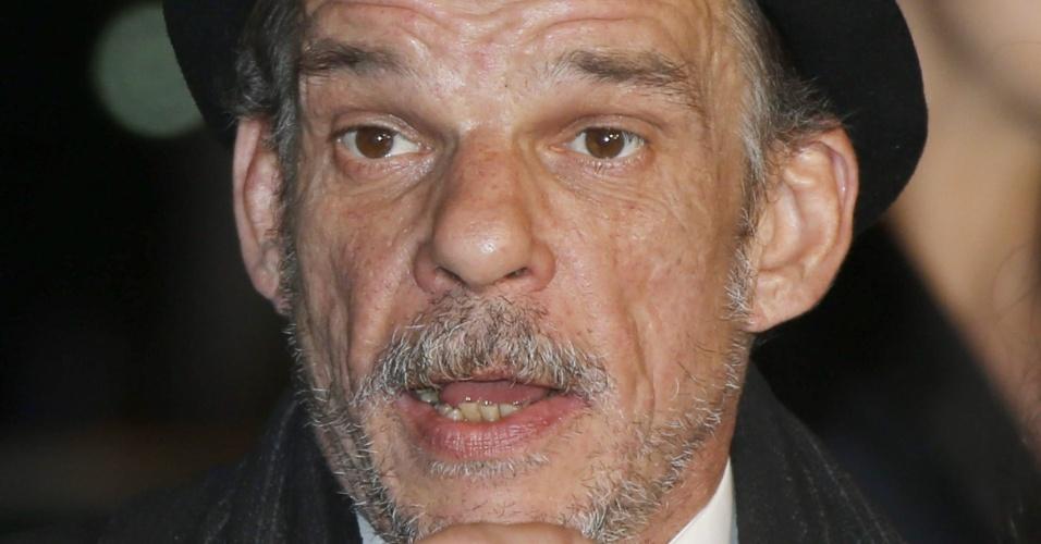 24.mai.2013 - O ator francês Denis Lavant, de