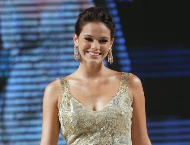 25.mai.2013 - Bruna Marquezine participou de um desfile de moda em Brasília