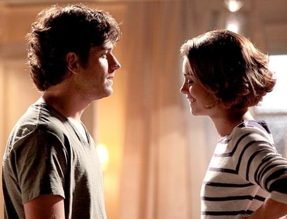 """Em """"Sangue Bom"""", Bento se declara para Amora: 'Eu te amo. Sempre te amei!'"""
