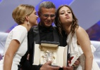 Tunísia parabeniza Palma de Ouro de Kechiche, mas não fala sobre o filme - Valery Hache/AFP
