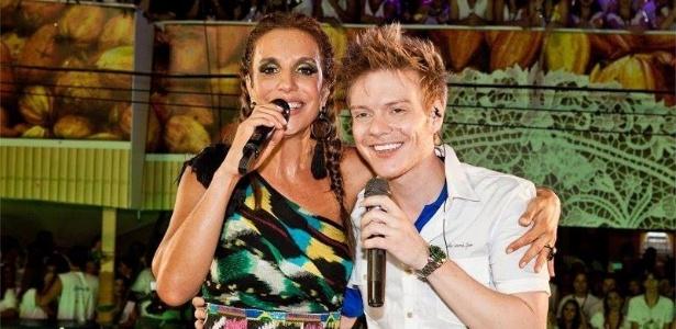 27.mai.2013 - Michel Teló comemora aniversário de Ivete Sangalo, que completa 41 anos.