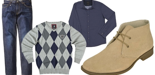 A forma mais comum de usar a bota desert (deserto em inglês) é com jeans, camiseta ou camisa e uma blusa para os dias mais frios - Divulgação