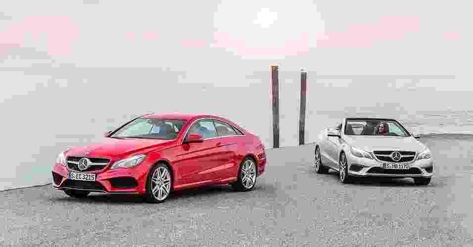 Mercedes-Benz Classe E Coupé e Cabriolet - Divulgação