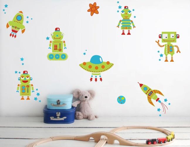 Veja ideias de adesivos de parede para decorar o quarto infantil  BOL Fotos