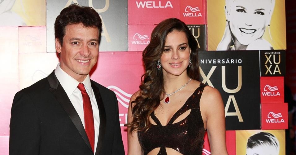 28.mai.2013 - Rodrigo Faro e Vera Viel na festa de 50 anos de Xuxa, em hotel de São Paulo