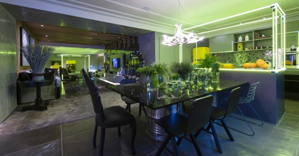 O arquiteto Léo Shehtman projetou o Loft One. A 27ª Casa Cor SP segue até dia 21 de julho de 2013, no Jockey Club de São Paulo