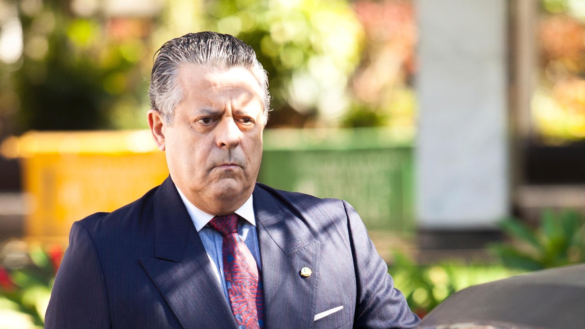 O ator Marcos Paulo, que interpreta o senador Ney, pai de Maria Lúcia, no filme