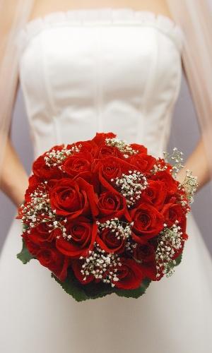 Imagem de buquê de flores tradicional