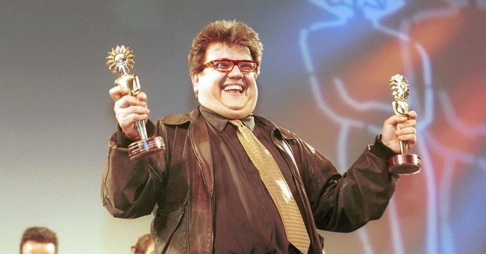 """Márcio Ribeiro ganhou um Kikito no Festival de Gramado de 1998 pelo curta-metragem """"Um Dia e Logo Depois Um Outro"""", da O2 Filmes"""
