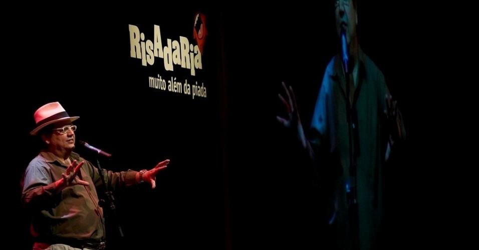 Márcio Ribeiro se apresentou na edição 2011 do festival de comédia Risadaria