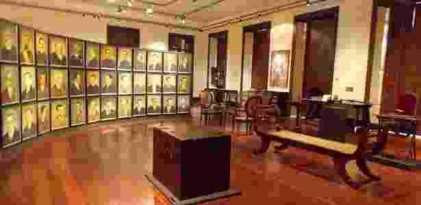 Primeiro museu do Estado, aberto ao público em 1933, o Museu do Ceará possui acervo dividido em módulos de peças históricas e antropológicas - Renata Gama/UOL - Renata Gama/UOL