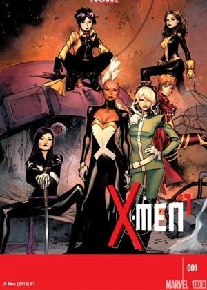 """Capa da revista """"X-Men #1"""", da linha Marvel Now, que traz o grupo de mutantes formado apenas por mulheres - Reprodução/Marvel.com"""