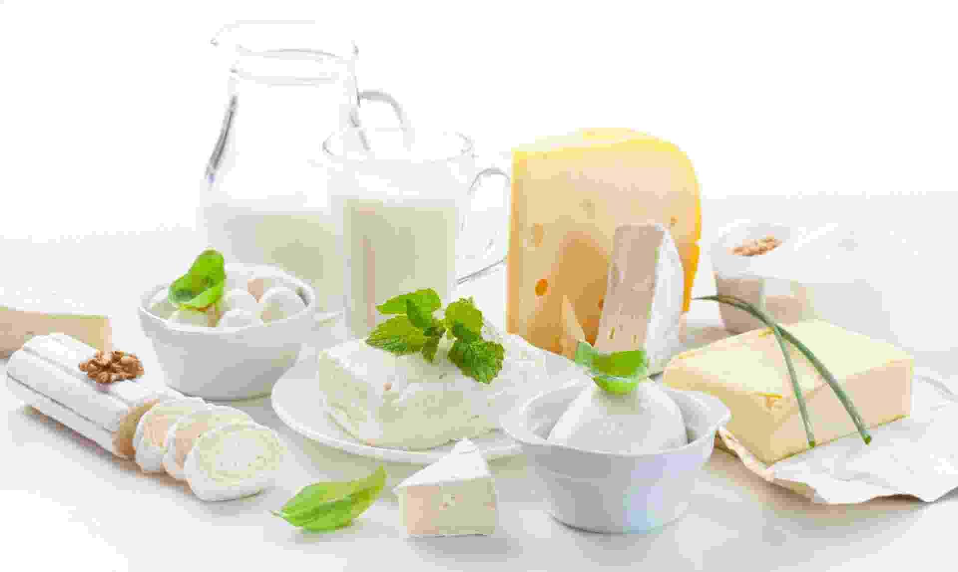 Consumo indicado | Leite e derivados: fornecem cálcio, nutriente que a mulher perde durante a gestação para garantir a formação dos ossos e dos músculos do filh - Thikstock