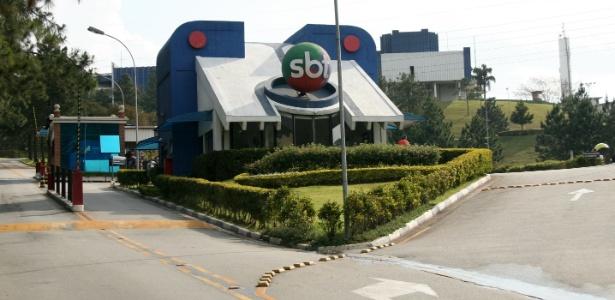 Portaria do SBT, na Anhanguera