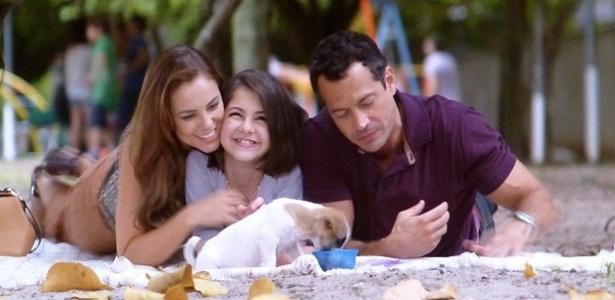 Paloma, Paulinha e Bruno