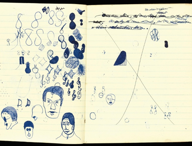 "Manuscrito de ""Murphy"", de Samuel Beckett - EFE"