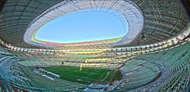 Arena Castelão, em Fortaleza, será o palco do clássico - Jarbas Oliveira/UOL
